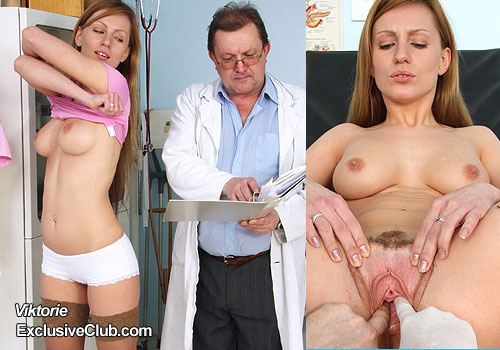 Charming blonde hospital porn clip in HD